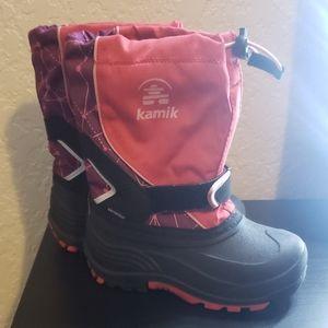 Kamik waterproof snow boots